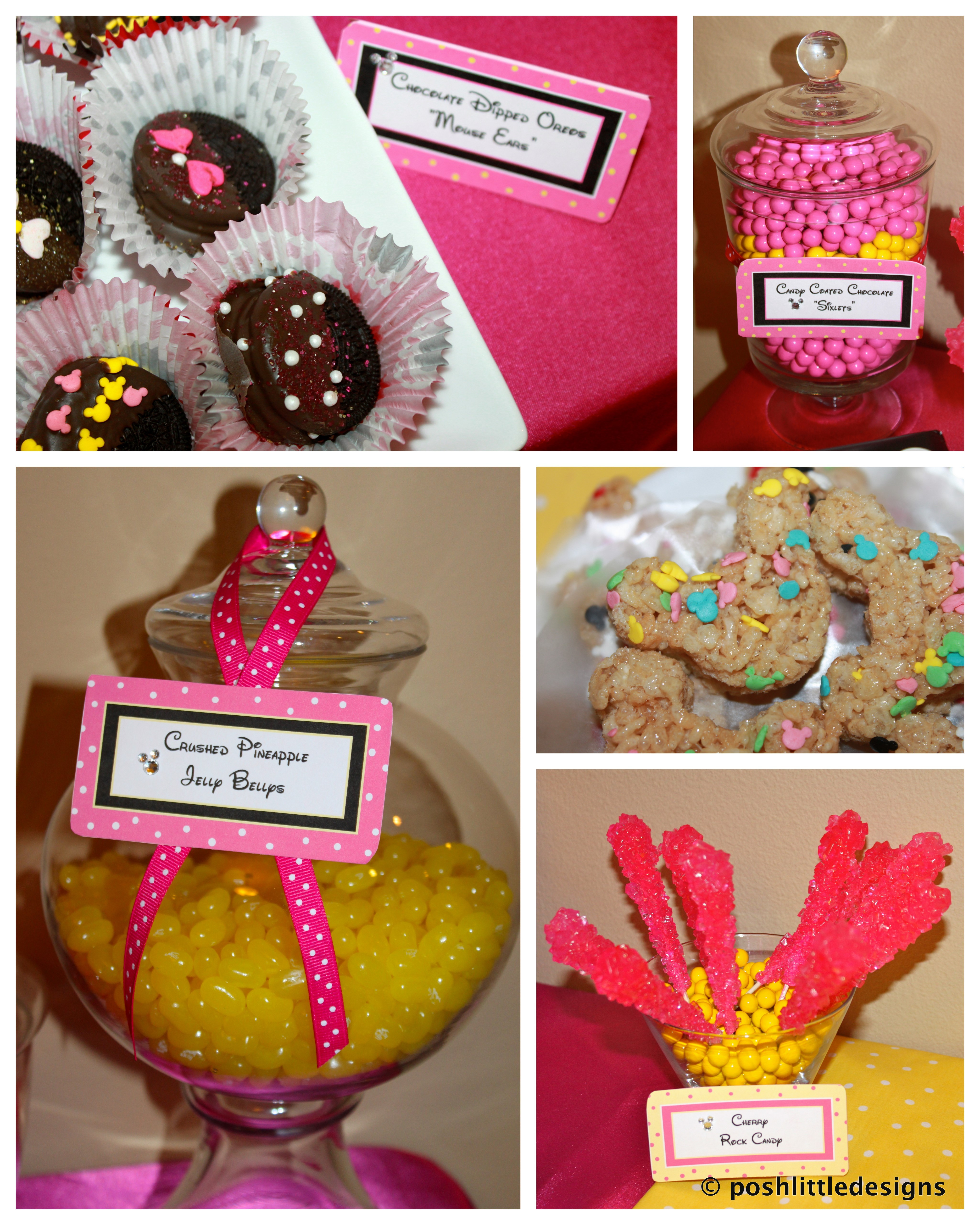Minnie Mouse First Birthday Party Via Little Wish Parties: Minnie Mouse Birthday